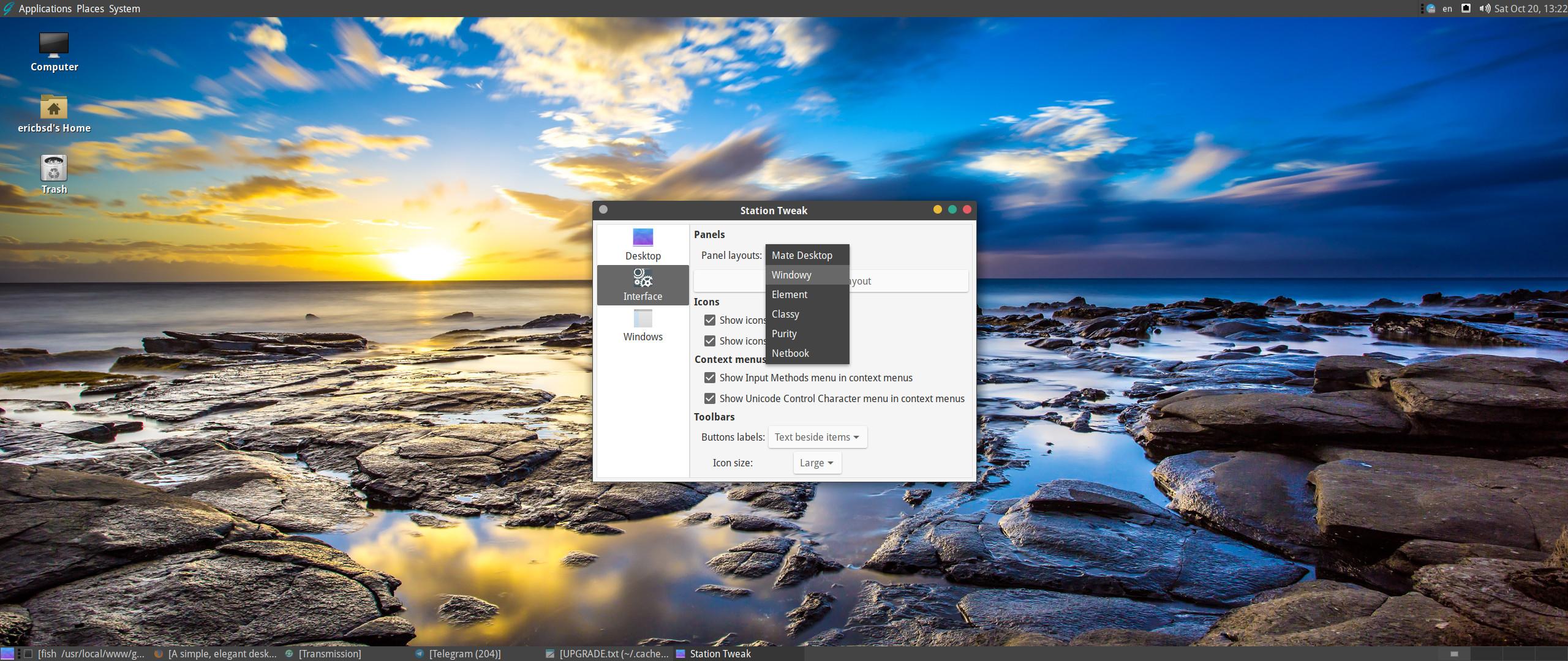 A simple, elegant desktop BSD ...